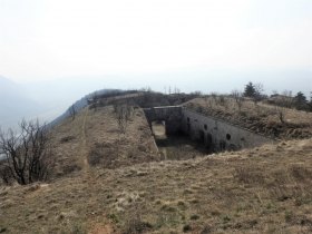 2018-03-14 monte Cordespino e forte S.Marco 090