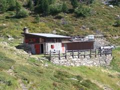 al bivacco Cros de l'Alp
