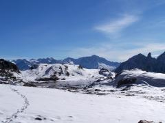 al lago di Vuarzarol o di Pietra Rossa