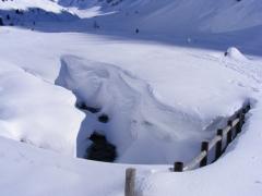 all'Occhi con la neve