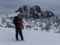 alta val Braone, con neve