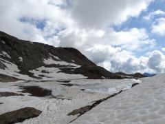lago superiore di Ercavallo da Viso
