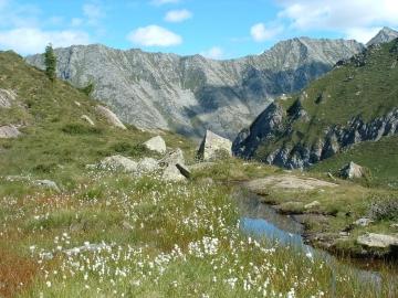 03 lago di Bos e passo Blisie 14-ago-2004 (5)